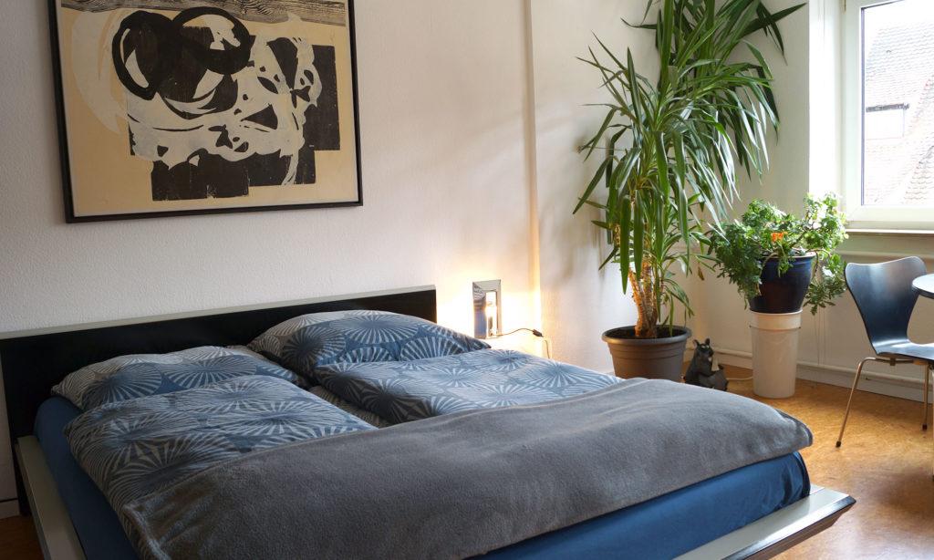 Doppelbett in der Suite #2